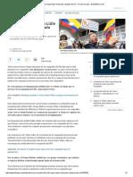 Ardila Lülle Niega Haber Financiado Campaña Del No - Proceso de Paz - ELTIEMPO