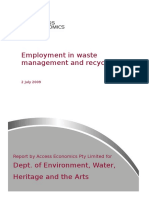 Waste and Recycling Employment