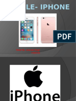 APPLE- iphone jasreet.pptx