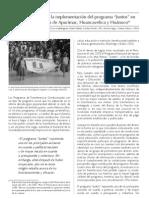 """Análisis de la implementación del programa """"juntos"""" en las regiones de Apurímac, Huancavelica y Huánuco"""