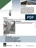 Elevadores de cangilones para plantas de asfalto