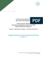 Especificacion Tecnica Edificio escuela.pdf