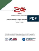 ISFED 4th Interim Pre-Election Report