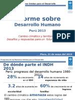 PPT INDH Perú 2013-Piura 21 Mayo