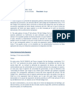 Demanda de Separacion Total de Bienes de Conyuges Chilenos Casados en El Extranjero Que Estaban Separados de Hecho (31!03!2008)