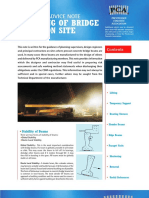 PCA Technical and Advice Note Handling of Bridge Beams at Site