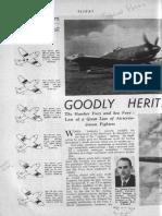 Sea Fury Flight