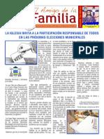 EL AMIGO DE LA FAMILIA, domingo 9 octubre 2016.