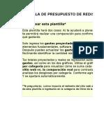 7) Plantilla de presupuesto del rediseño de la página web.xls