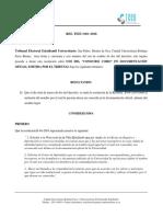 Res Teeu-010-2016 Uso Del Conocido Como en Documentos Oficiales