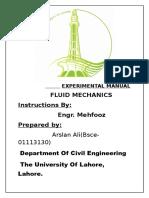 Experimental Manual