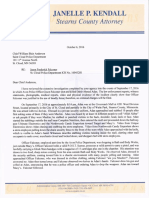 Stearns County Attorney's Letter on Justified Use of Deadly Force by Off-Duty Officer