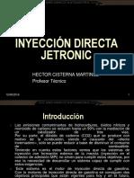 Curso Sistema Inyeccion Directa Gasolina Jetronic Motronic Med7 Bosch Electronica Componentes Funciones Mecanismo