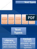 Jenis Teks, Fungsi, Struktur Dan Fitur Kebahasaan