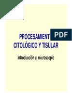 Procesamiento Citológico y Tisular Tema 0