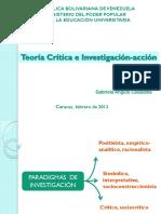 Teoría Crítica e Investigación-Acción 98305 32890 23028