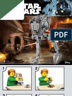 #2 Lego Star Wars at-ST Walker Instructions!