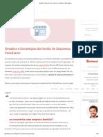 Gestão de Empresas Familiares - Desafios e Estratégias