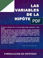 Las variables de la hipótesis.pptx
