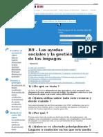 B9 - Las Ayudas Sociales y La Gestión de Los Impagos - Wikiw