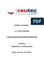 Control Interno-conciliacion Bancaria- Alejandra E Pineda Suazo-cta 31121491