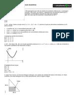 Função Quadrática - Exercício.pdf