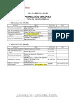 Lista Libros 15-16 Fabricacion Mecanica