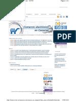 Guía Comercio Electronico en Canarias