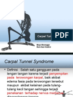 PPT Carpal Tunnel Syndrome
