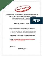 Procesos de Impugnación de Laudos Arbitrales Economicos. (1)