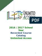 RecordedCourseCatalog2016_2017