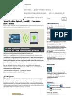 Tutorial de Arduino, Bluetooth y Android #2 – Crear Una App Con MIT Inventor – Robologs