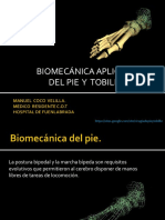 Biomecanica Pie y Tobillo
