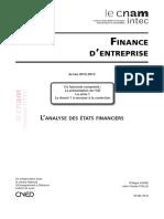 Analyse Des États Financiers