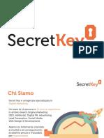 Presentazione Secret Key 2015