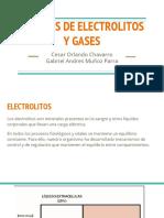 Análisis de Electrolitos y Gases