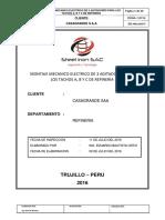 Informe de Tachos Refineria Casagrande