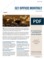 Family Office Monthly February 2016