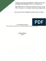 b). Williams2005. Introduccion. La Etnoarqueologia, Arqueologia Como Antropologia