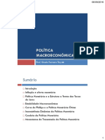 Parte II - Politica Macro
