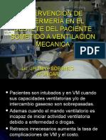 Intervencion de Enfermería en El Destete Del Paciente Sometido a Ventilacion Mecanica