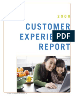 RightNows 3rd Annual Customer Experience Impact Report