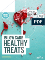 15 Low Carb Healthy Treats