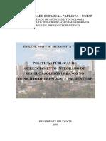 PP de Gerenciamento Integrado de Resíduos Sólidos