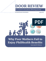 Why Poor Mothers Fail to Enjoy PhilHealth Benefits
