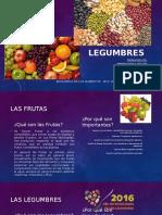 Frutas y Legumbres