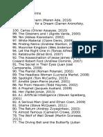 BBC Top 100 Films