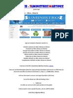 Suministros Martinez Sanchez SL - Albox - Almería - 950430166 - Articulos Sanitarios en Albox Almanzora Almeria  - Energías Renovable - Piscinas - Barato