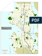 Map of Seattle Parks With Natural Areas and Greenbelts