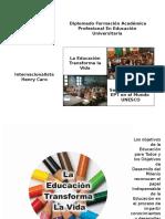 La Educación Transforma la Vida